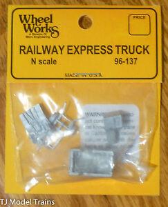 Wheel Works N #96137 Railway Express Truck / Light Cast Metal (1:160th Scale)