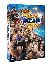 WRESTLEMANIA 33 (WWE) BOX 3 DVD in Inglese NEW .cp