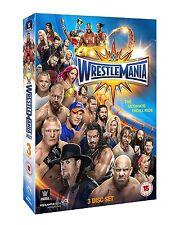 WRESTLEMANIA 33 (WWE) BOX 3 DVD in Inglese NEW .cp