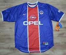 PSG Paris Saint Germain Jersey Nike 100% Original L 1999/2000 Home NEW Rare