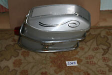 1978 Honda GL 1000 Goldwing Saddle Hard Luggage Bag Silver SHOEI Right 78 A