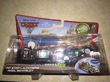 Cars 2 Pit Stop Launchers NIGEL GEARSLEY (N3)!