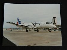 PHOTO AVION AIR FRANCE Alsavia - collection aviation aéroport photo presse