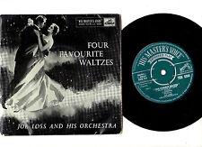 """DANCE"".JOE LOSS ORCH.FOUR FAVOURITE WALTZES.UK ORIG 7"" EP & PIC/SL.VG"