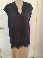 Kain Label Sleeveless Purple Dress Size M Shirt Made in USA