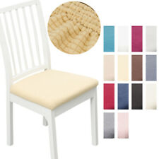 Minimalist Style Removable Protector Stretch Dining Chair Seat Cover 1/2/4/6pcs