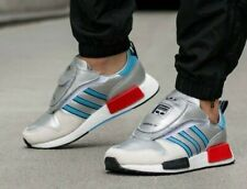 wholesale dealer b35dd 0234f ADIDAS Micropacer XR 1 METALLIC SILVER UK8 G26778 NMD BOOST EQT ZX 10000 C  4000
