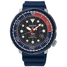 NEW Seiko SNE499 Solar Padi Special Edition Blue Rubber Strap 47mm Case Watch