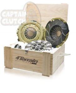 HEAVY DUTY 4 TERRAIN ULTIMATE clutch kit SUITS NISSAN GQ PATROL TD42 MQ DIESEL
