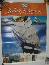 Poster 2003 Historical Voyage Jeanie Johnson Irish Emigrant Sailing Ship