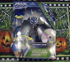 NEW Max Steel Deluxe  Power ORB Figure DVD Included