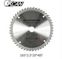 165mm x 20mm x 48T TCT Cordless Circular Saw Blade Dewalt Makita Ryobi Bosch New