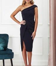 Brittany One Shoulder Dress - Black