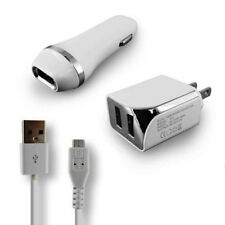 2.1 Car Charger & Wall Charger & USB Data Cable For Samsung Nexus S 4G SPH-D720