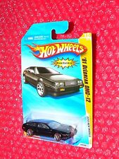 2010 Hot Wheels New Models  '81 DeLorean DMC-12  #15  R0931-B910Q   black