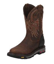 "Justin WK2108 Commander-X5 Waterproof Steel Toe 11"" Safety Work Boots RRP$270"