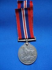 GEORGIVS VI WAR MEDAL WWII ENGLISH SOUTH AFRICA NAMED 546628 M J VAN ASWEGEN