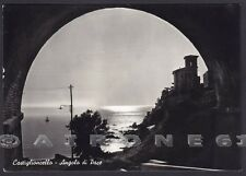 LIVORNO ROSIGNANO MARITTIMO 17 CASTIGLIONCELLO Cartolina FOTOGRAFICA viagg. 1961