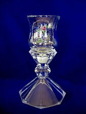 Collectible Vintage 2 Pc. Leaded Crystal Roses Candle Holder / Votive / Tealight