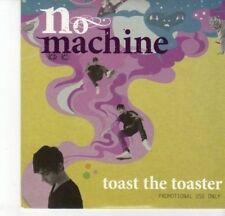 (DJ653) No Machine, Toast The Toaster - 2010 DJ CD