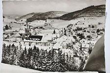 13357 Foto AK Vöhrenbach Schwarzwald im Winter mit Kirche  60er Jahre W-7714