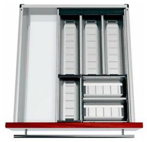 Blum Orga-Line Cutlery / Utensil Tray Set 400-549mm Wide - 500NL Depth
