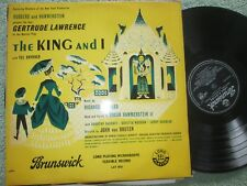 The King And I - Gertrude Lawrence With Yul Brynner BRUNSWICK UK Vinyl LP Album