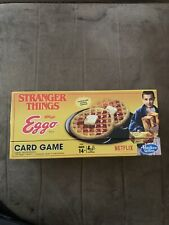 Netflix Stranger Things Kellogg's Eggo Card Game by Hasbro