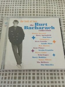 The Look of Love -The Burt Bacharach Collection - 2 x CD LIKE NEW  FREE STD POST