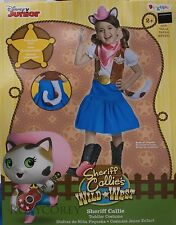 Halloween Disney Sheriff Callie Girls Costume Size Small 2T NWT