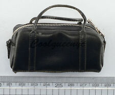 POPTOYS 1/6 F16 The Mafia style leather dress suit A - Black Leather handbag
