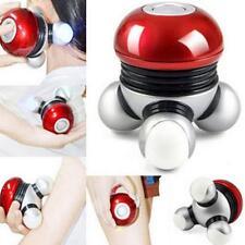 LED Mini Hand held Muscle Vibration Body Back Leg Massager Relax Massage E