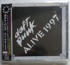 DAFT PUNK ALIVE 1997 CD Album JAPAN 2001