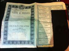 Compagnie du Chemin de Fer des Vaux Fréjus - Paris