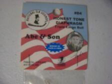 Nos Abe & Son Original #D4 Honest Tone Diaphragm Triple Large Bull Elk Call