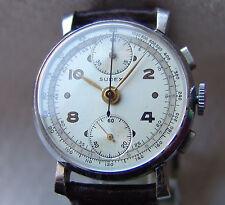 MEN'S WWII ERA chronograph SUDEX SELZA good condition WRISTWATCH pre 1945