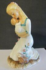 Vintage 1959 Large Hummel Goebel of Mother Embracing Child Baby