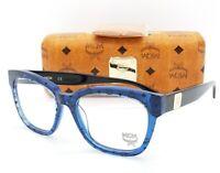 NEW MCM RX Frame Blue Visetos Black MCM2624 407 53mm Classic AUTHENTIC Uni 2624