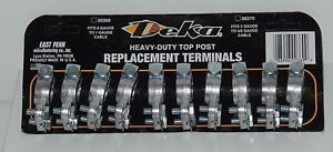 10 Pieces Heavy Duty Top Post Replacement Terminals MADE IN USA