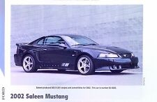 2002 Ford Mustang Saleen S-281 S/C 4.6 Liter Info/Specs/photo 11x8