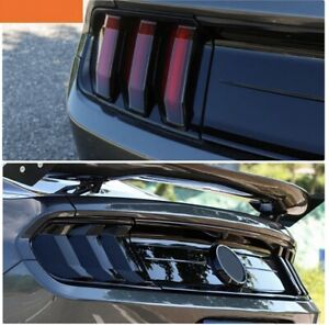 Ford Mustang tinted tail lights 2018+
