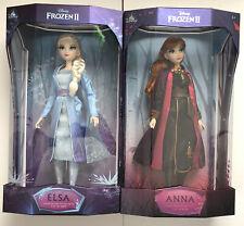 "Disney Frozen 2 Limited Edition Anna & Elsa 17"" Doll Set"