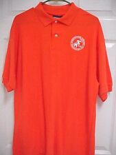 2008 REPUBLICAN NATIONAL CONVENTION MN St Paul Orange Short Sleeve Polo Shirt L