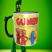 Gumby 11oz  Ceramic Mug NEW Dishwasher Safe