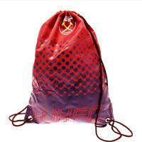 West Ham United FC Drawstring Gym Swimming Bag NEW Official Club Merchandise
