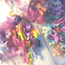 Mixed Lot of Random My Little Pony Original Hasbro Toy 10 Figures Total