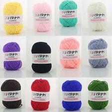 25g/Skein Baby Yarn Balls Soft Hand-knitted Baby Wool Cashmere Cotton Crochet