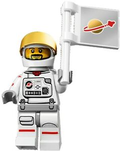 LEGO Minifigures Series 15 Astronaut / classic spaceman - suit space set