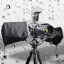 Camera Protector Rain cover Rainproof Waterproof DSLR Camera w/ On-camera Flash