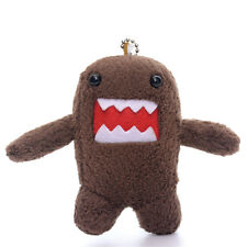 Collectible Soft Brown Domo Kun Plush Bag Ornament Anime Chain Mini Doll Toy 4''